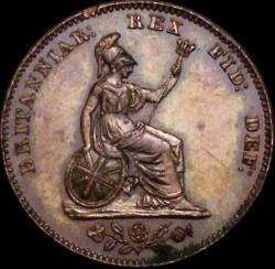 Moneta > ½farthinga, 1828-1830 - Wielka Brytania  - reverse