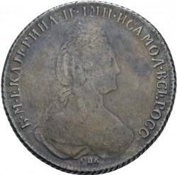 Monēta > 1rublis, 1777-1782 - Krievija  - obverse
