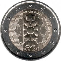 Moneta > 2euro, 2018 - Francia  (100° anniversario - Fine della prima guerra mondiale) - obverse