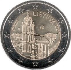 Coin > 2euro, 2017 - Lithuania  (Vilnius) - obverse