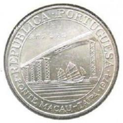Moneta > 20pataca, 1974 - Makau  (Most Makau-Taipa) - obverse
