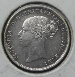 Moneta > 3pensy, 1886 - Wielka Brytania  - obverse