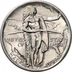 Moneta > ½dollaro, 1926-1936 - USA  (Viaggio lungo il sentiero dell'Oregon) - reverse