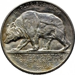 Minca > ½dolára, 1925 - USA  (60th Anniversary - State of California) - reverse