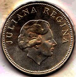 Moneda > 10florines, 1978 - Antillas Holandesas  (150º Aniversario - Banco de las Antillas Holandesas) - obverse