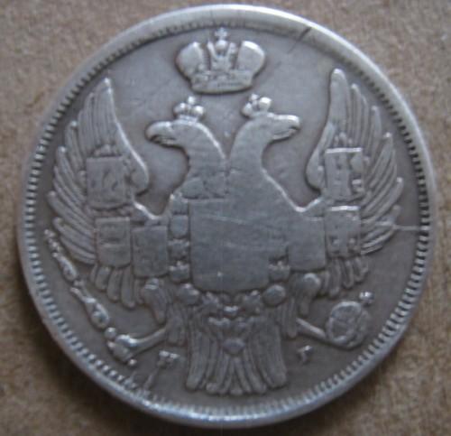 1 Złoty 1832 1841 Polen Münzen Wert Ucoinnet