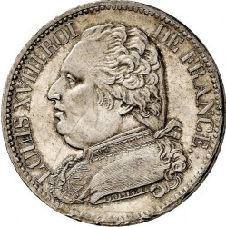 Mynt > 5francs, 1814-1815 - Frankrike  - obverse