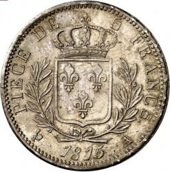 Mynt > 5francs, 1814-1815 - Frankrike  - reverse