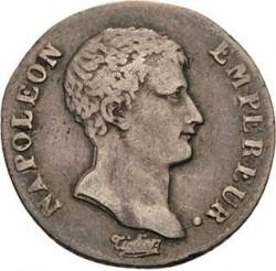 Pièce > ½franc, 1806-1807 - France  - obverse