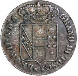 Moeda > 3quattrini, 1826-1854 - Toscana  - obverse