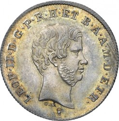 Moeda > 1paolo, 1842-1858 - Toscana  - obverse