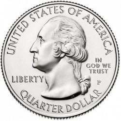 Munt > ¼dollar, 2018 - Verenigde Staten  (Pictured Rocks National Lakeshore) - obverse