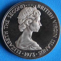Moneda > 25centavos, 1973-1984 - Islas Vírgenes Británicas  - reverse