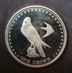 Moneta > 1korona, 2009 - Tristan da Cunha  (Sokół wędrowny (Wyspa Gough)) - reverse