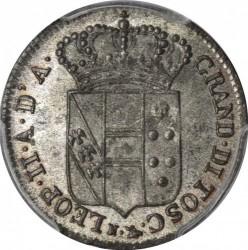 Moeda > 5quattrini, 1826-1830 - Toscana  - obverse