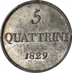 Moeda > 5quattrini, 1826-1830 - Toscana  - reverse
