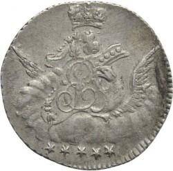 Coin > 5kopeks, 1755-1756 - Russia  - obverse