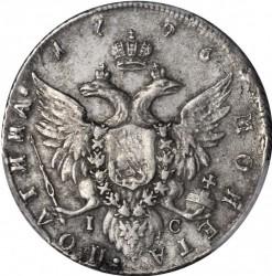 Monedă > 50copeici(poltina), 1785-1796 - Rusia  - reverse