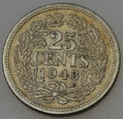 Monēta > 25centi, 1941-1943 - Kirasao  - reverse