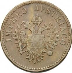 Монета > 15чентезимо, 1852 - Ломбардо-Венеційське  - obverse