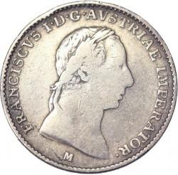 Νόμισμα > ½Λίρες, 1822-1824 - Λομβαρδία - Βενετία  - obverse