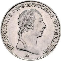 Монета > ½ліри, 1822-1824 - Ломбардо-Венеційське  - obverse