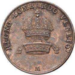 Монета > 5чентезимо, 1822-1834 - Ломбардо-Венеційське  - obverse
