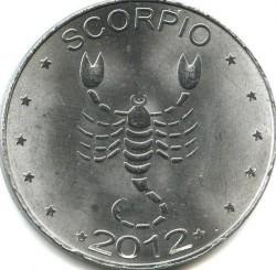 Moneta > 10szylingów, 2012 - Somaliland  (Znaki zodiaku - Skorpion /stal pokryta niklem/) - reverse