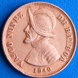 Moneta > 1¼sentesimo, 1940 - Panama  - obverse