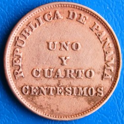 Moneta > 1¼sentesimo, 1940 - Panama  - reverse