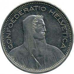 Moneta > 5franków, 2003 - Szwajcaria  - obverse