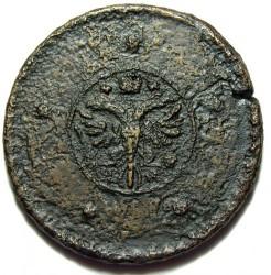Moneda > 5kopeks, 1724-1730 - Rússia  - obverse