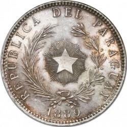 Moneta > 1pesas, 1889 - Paragvajus  - obverse