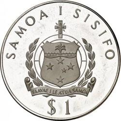 Moneta > 1tala, 1976 - Samoa  (XXI Giochi olimpici estivi, Montreal 1976) - obverse