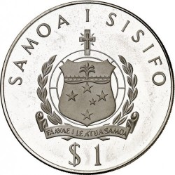 Moneta > 1tala, 1976 - Samoa  (XXI Giochi olimpici estivi, Montreal 1976) - reverse