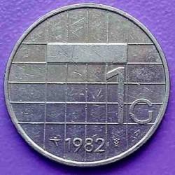 Монета > 1гульден, 1982-2001 - Нидерланды  - obverse