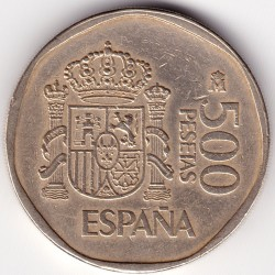 Moneda > 500pesetas, 1987-1990 - España  - obverse
