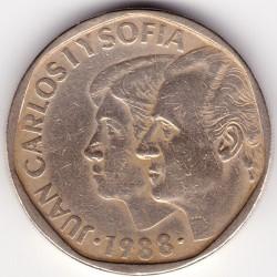 Moneda > 500pesetas, 1987-1990 - España  - reverse