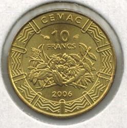 Moneda > 10francos, 2006 - África Central (BEAC)  - obverse