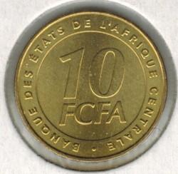 Moneda > 10francos, 2006 - África Central (BEAC)  - reverse