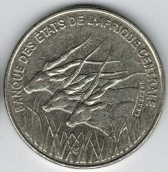 Moneda > 100francos, 1992-2003 - África Central (BEAC)  - obverse