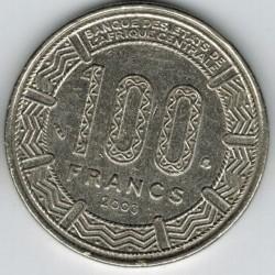 Moneda > 100francos, 1992-2003 - África Central (BEAC)  - reverse