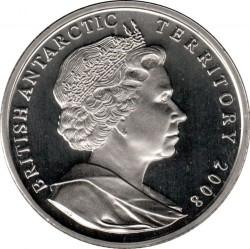 Monedă > 2lire, 2008 - Teritoriu Antarctic Britanic  (100th Anniversary - Granting Letters Patent) - obverse