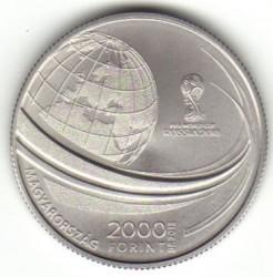 Moneda > 2000florines, 2018 - Hungría  (Copa Mundial de Fútbol de Rusia 2018) - obverse