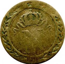 Moneta > 10centesimi, 1807-1810 - Francia  - obverse