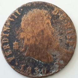 سکه > 4maravedis, 1816-1833 - اسپانیا  - obverse