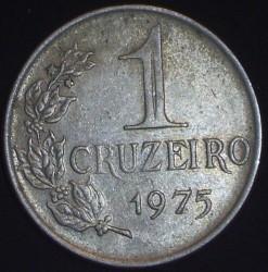 Coin > 1cruzeiro, 1974-1978 - Brazil  - reverse