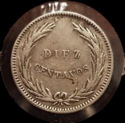 Munt > 10centavos, 1914 - El Salvador  - obverse