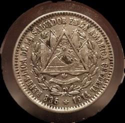 Munt > 10centavos, 1914 - El Salvador  - reverse