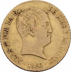 Moneta > 80reali, 1822-1823 - Hiszpania  - obverse